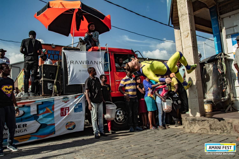 Résidence artistique avec Bboy Milan en RDC organisée par Amani festival et GOMA DANCE FESTIVAL